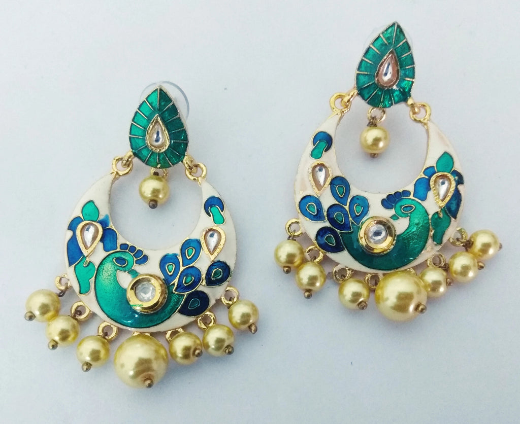 Copy of Wallah Meenakari Earrings