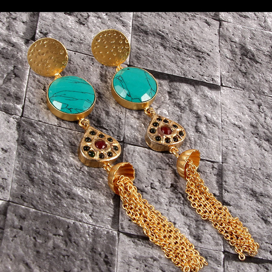 Azwaien Earrings