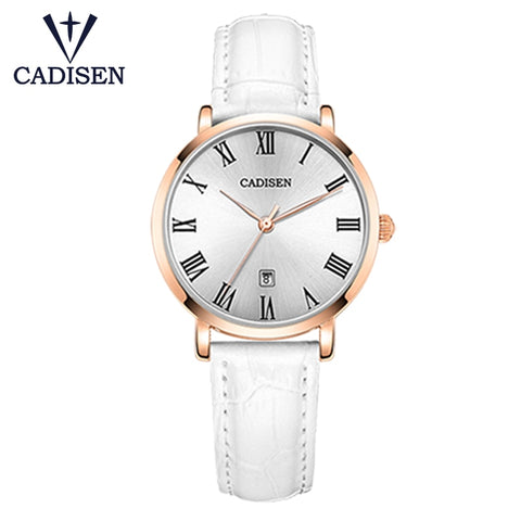 White Roman Designer Wrist Watch
