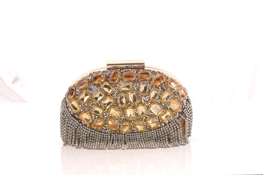 Diamonds & Sparkle Clutch Bag