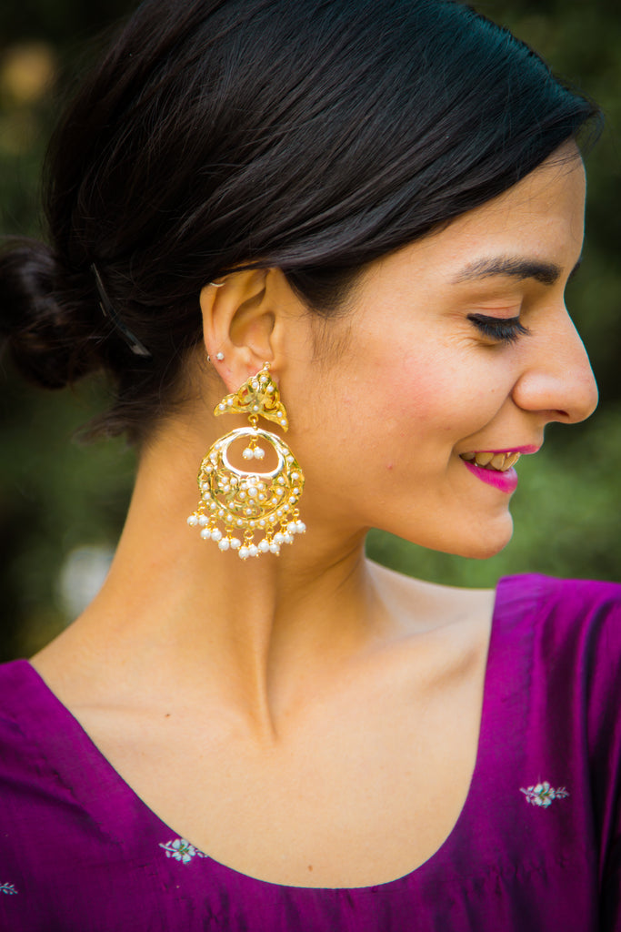 Aashita Jadau Earrings