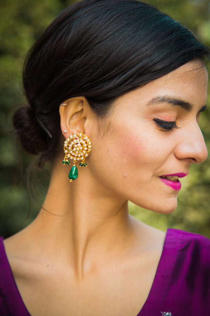 Adhya Jadau Earrings