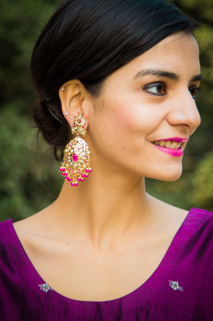 Anvi Jadau Earrings