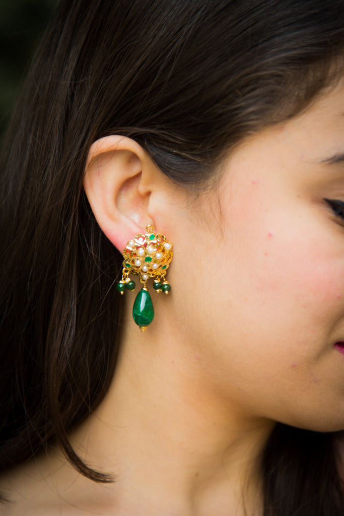 Aadhya Jadau Earrings