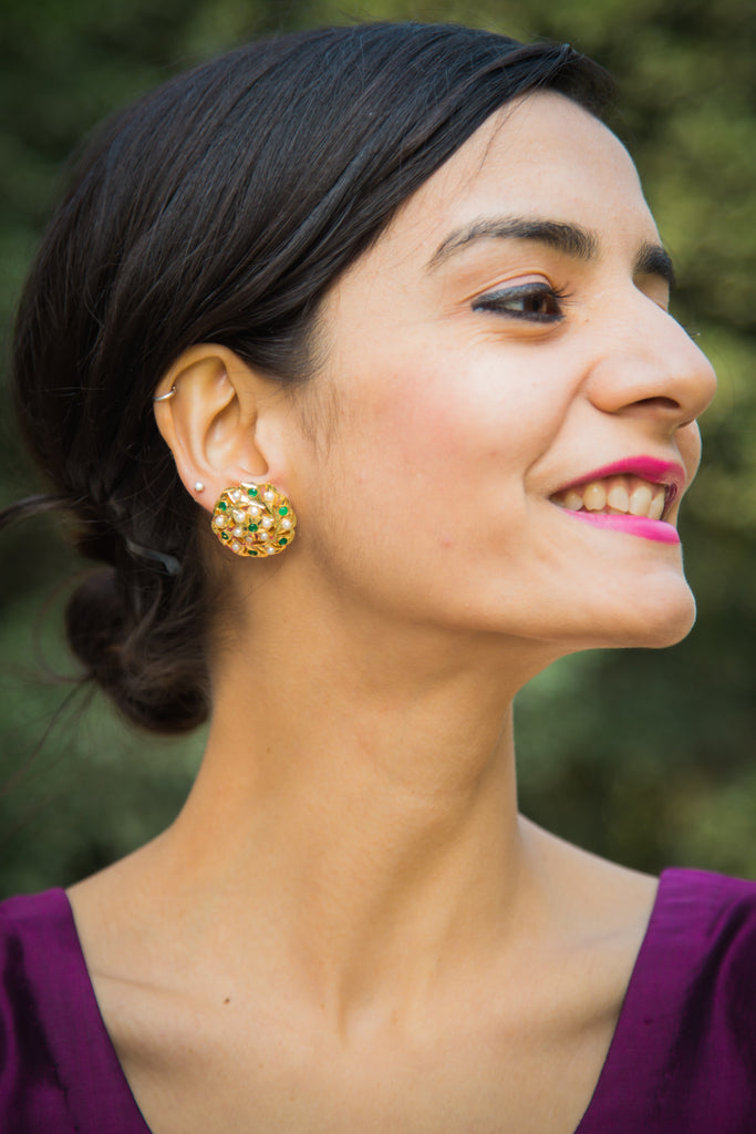 Aaravi Jadau Earrings