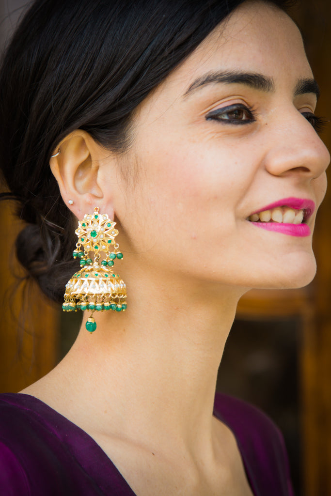Chhavi Jadau Earrings