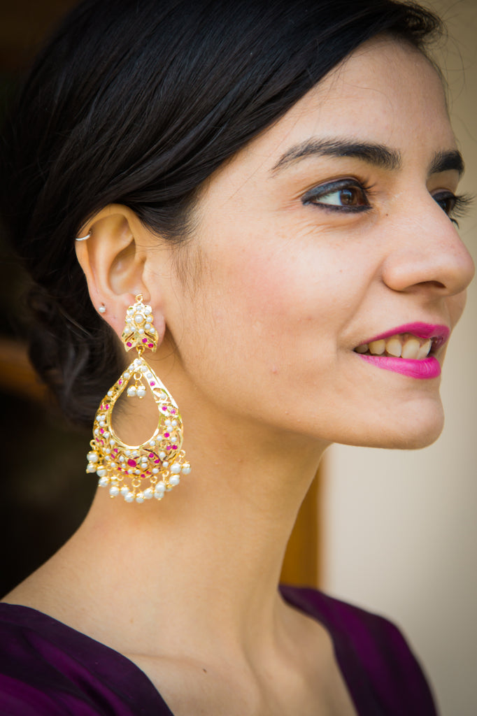 Chitrani Jadau Earrings