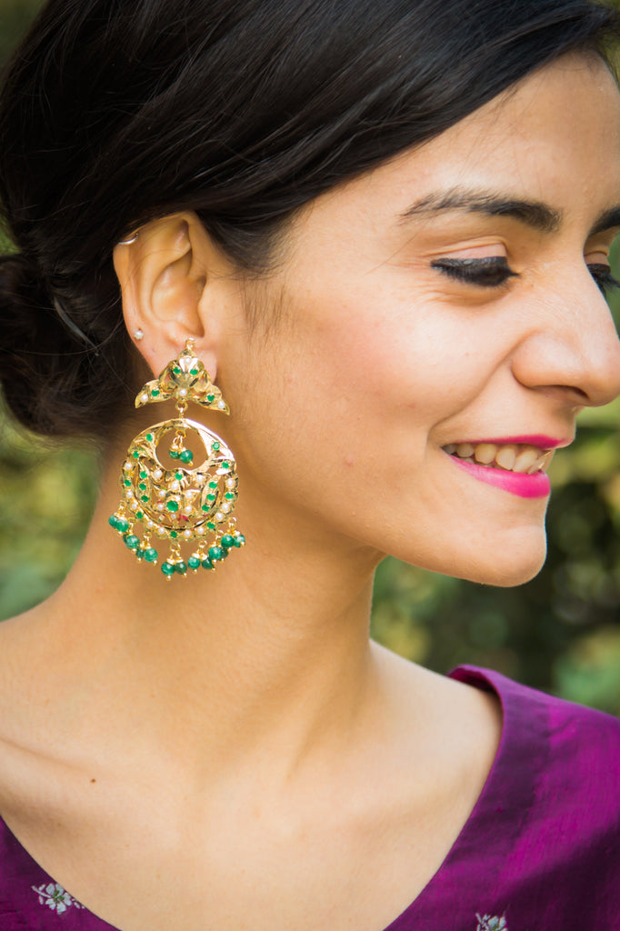 Darika Jadau Earrings