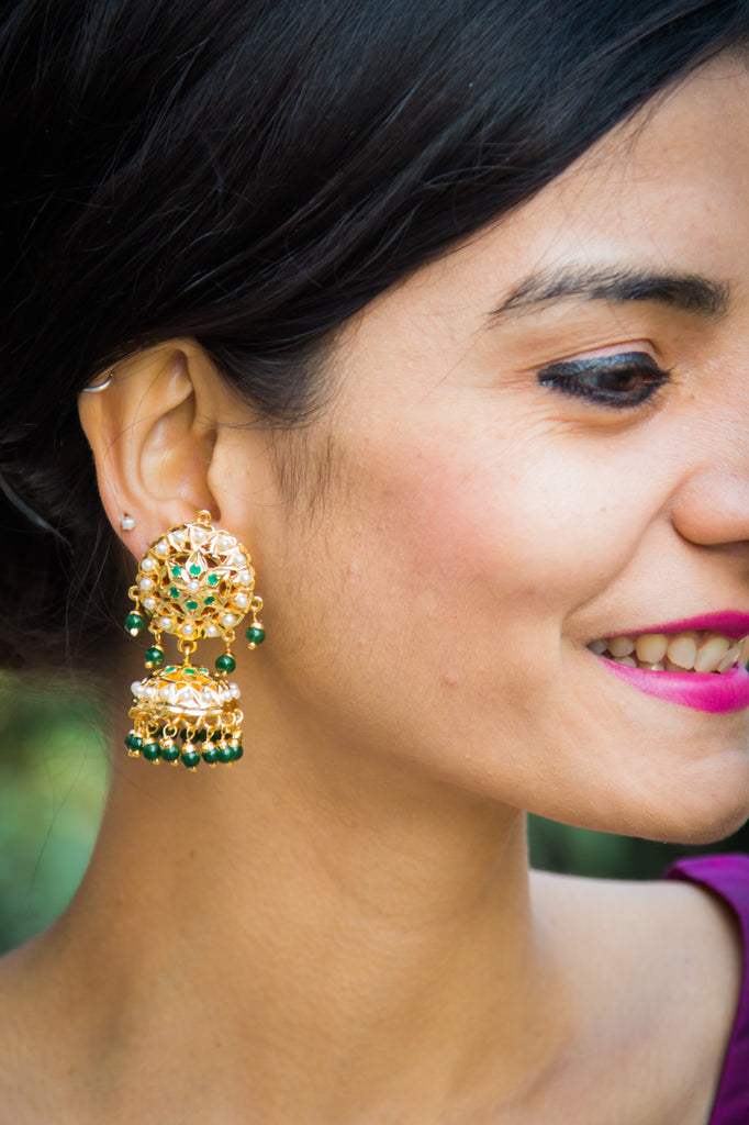 Dayanita Jadau Earrings