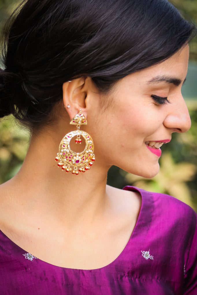 Sundarta Jadau Earrings