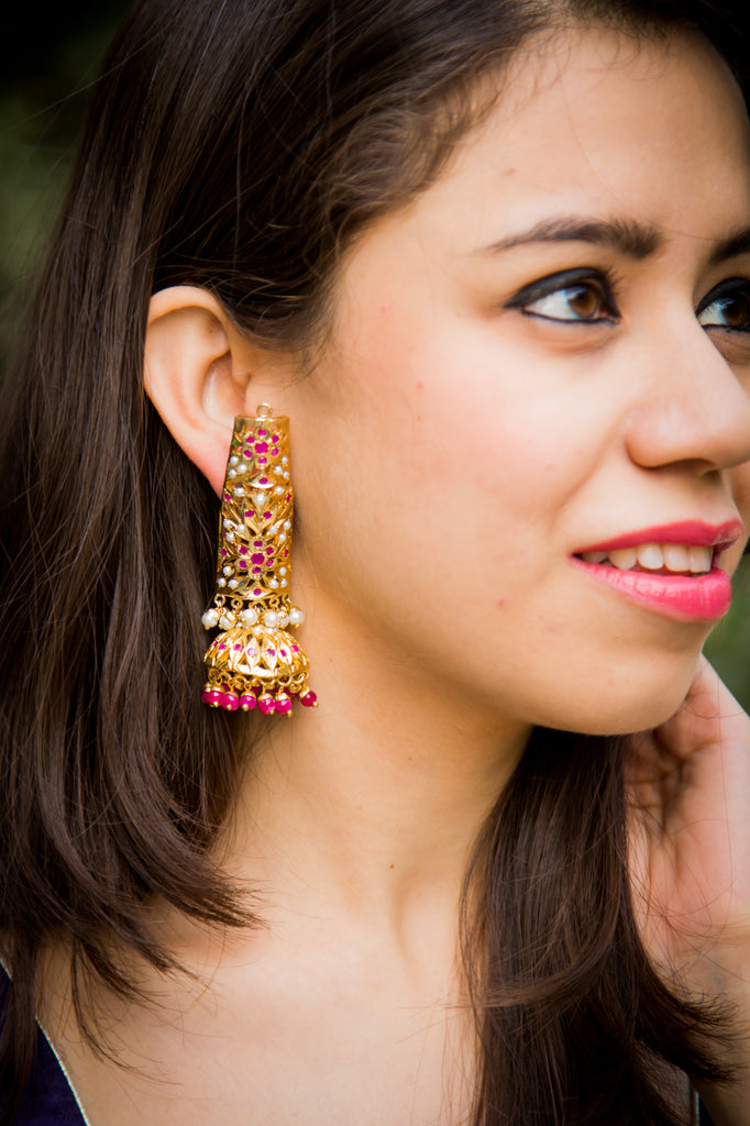 Drishya Jadau Earrings