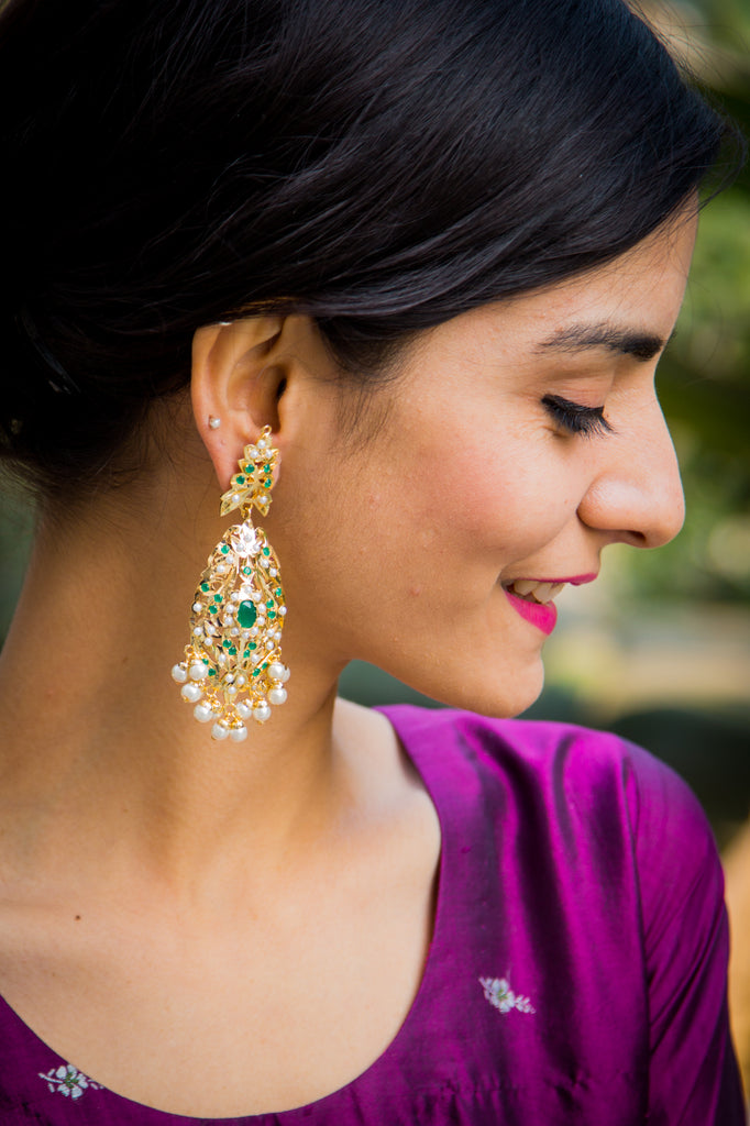Edha Jadau Earrings