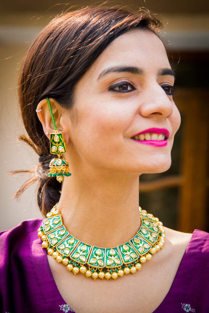 Vaidehi Kundan Necklace Set