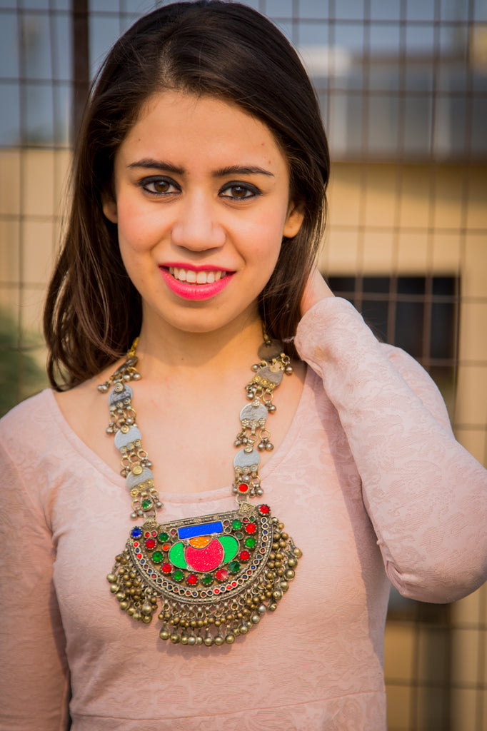 Nazrienne Afghani Necklace