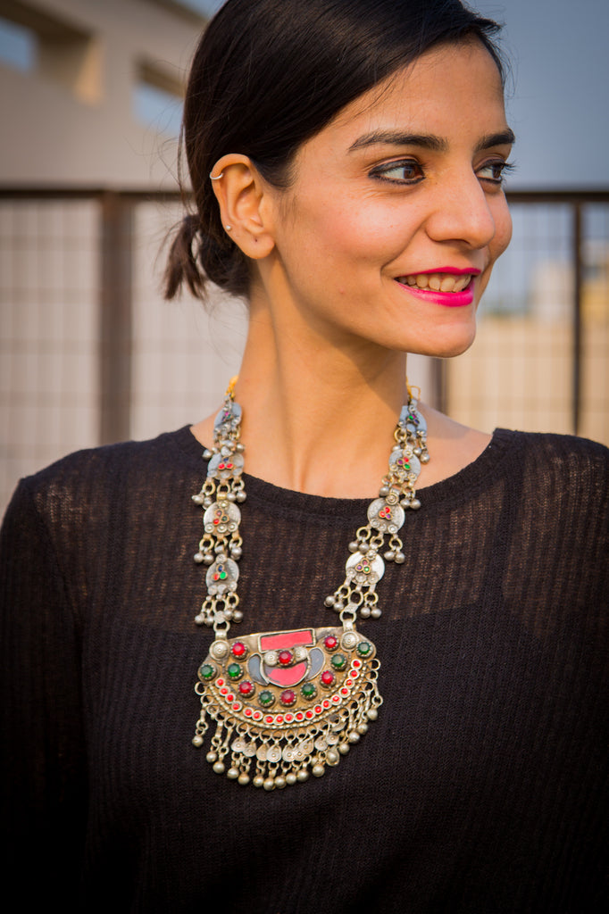 Noor Afghani Necklace