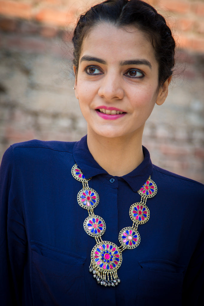 apolla afghani Necklace
