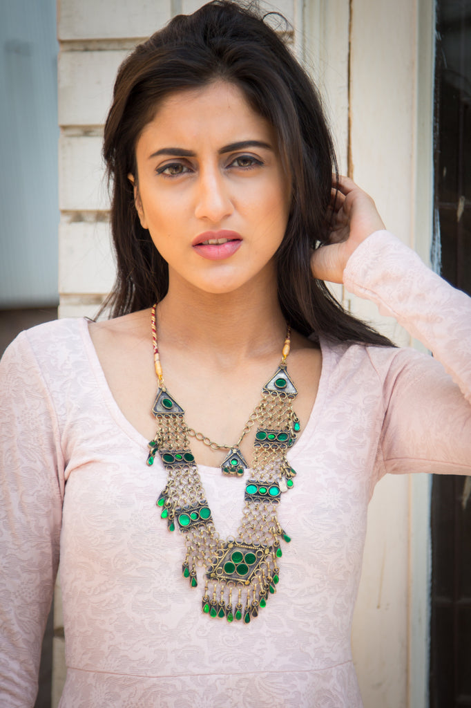 Jasmine Afghani Necklace