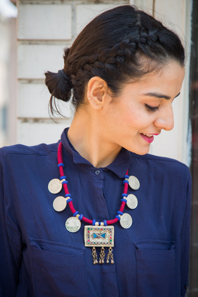 Abrisham Afghani Necklace