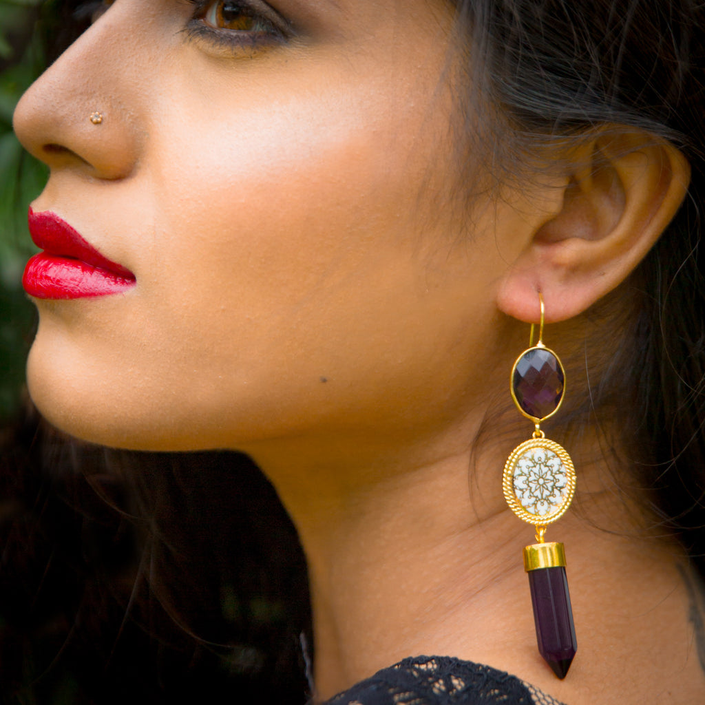 Nell Glitz Earrings