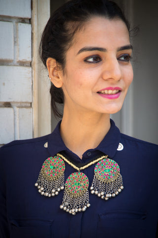 Durr-e-Shahwar Afghani Necklace