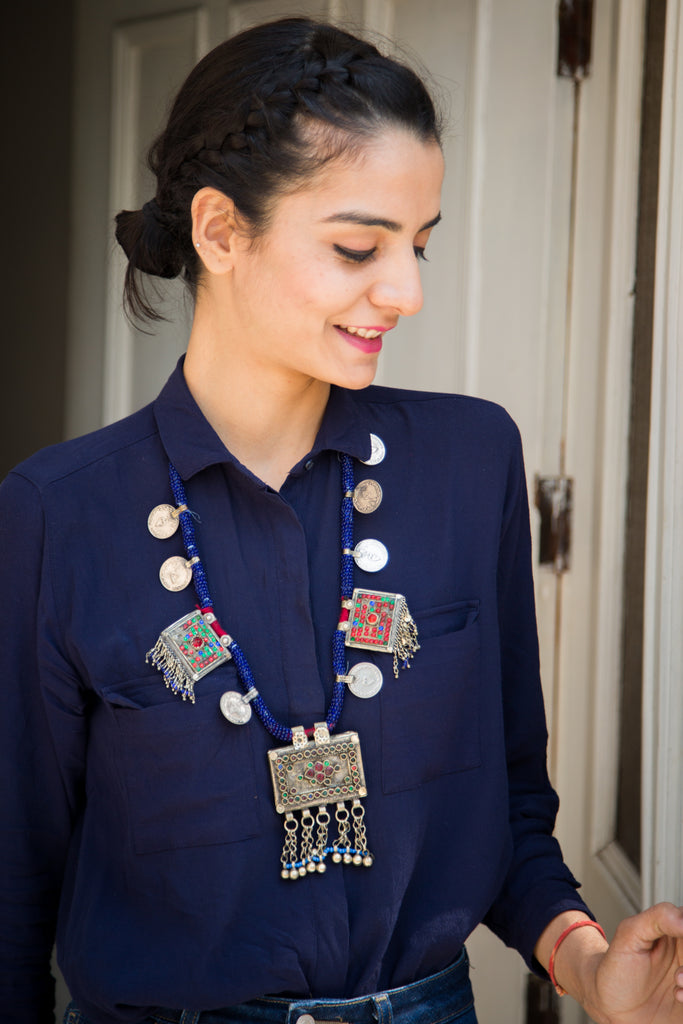 Gulru Afghani Necklace
