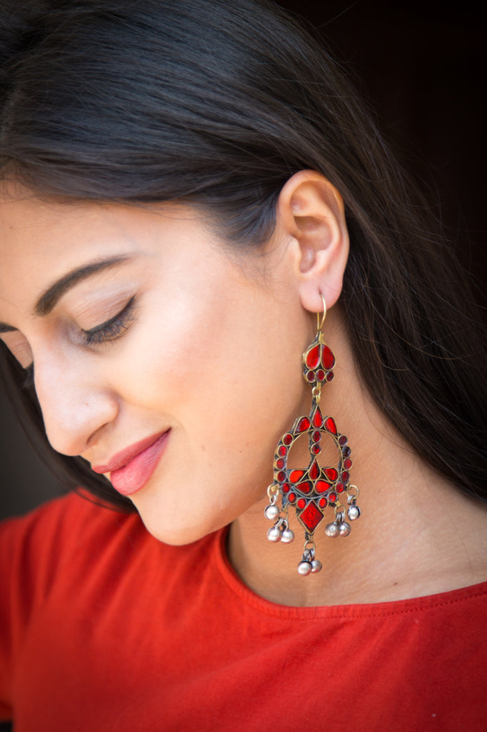 Mehrbano Afghani Earrings