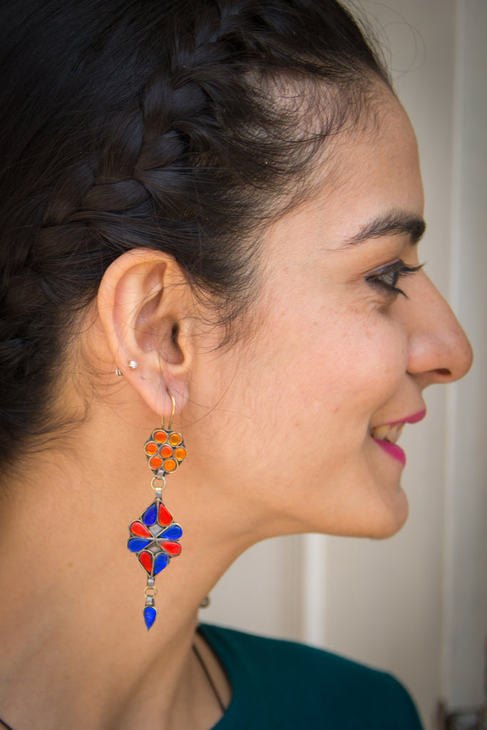 Paksima Afghani Earrings