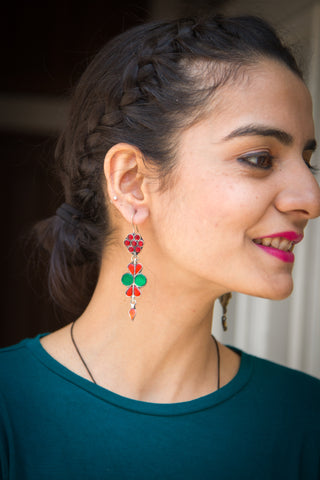 Pazir Afghani earrings