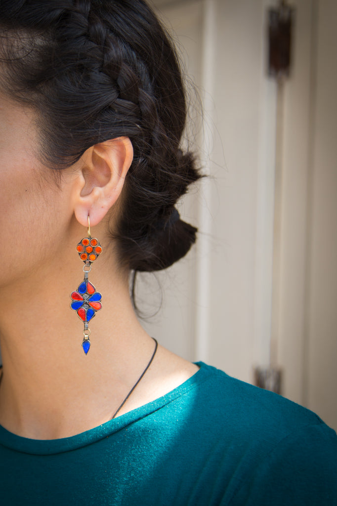 Perveen Afghani Earrings