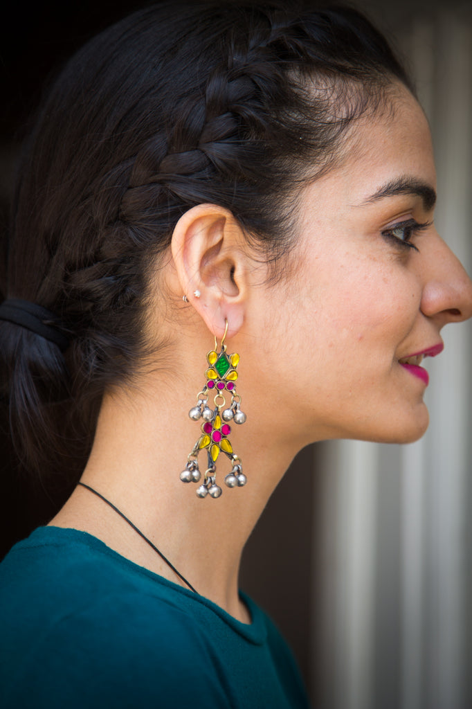 Qammar Afghani Earrings