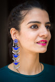 Maharani Blue Earrings