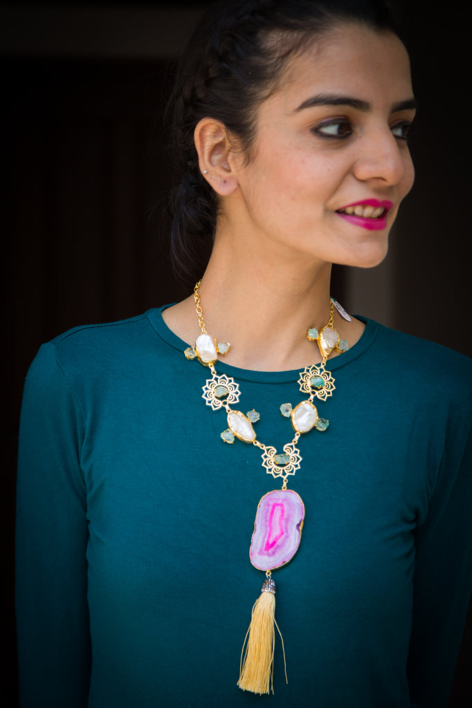 Arsenio Statement Necklace
