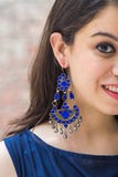Lamya Indigo Earrings