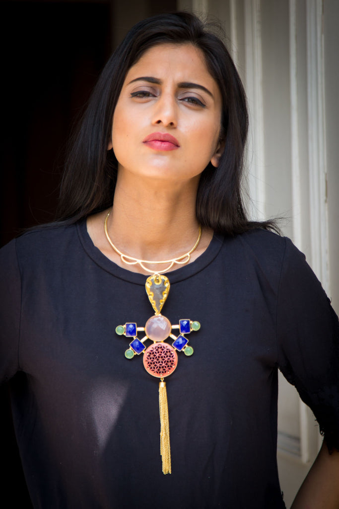 Ashef Statement Necklace