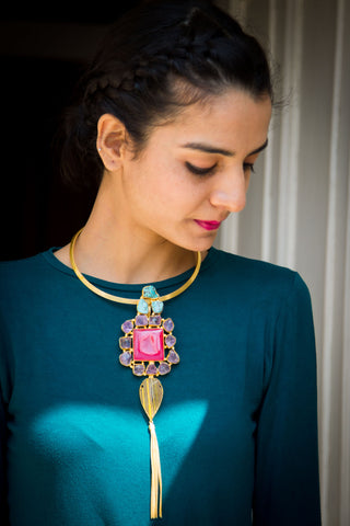 Asheli Statement Necklace