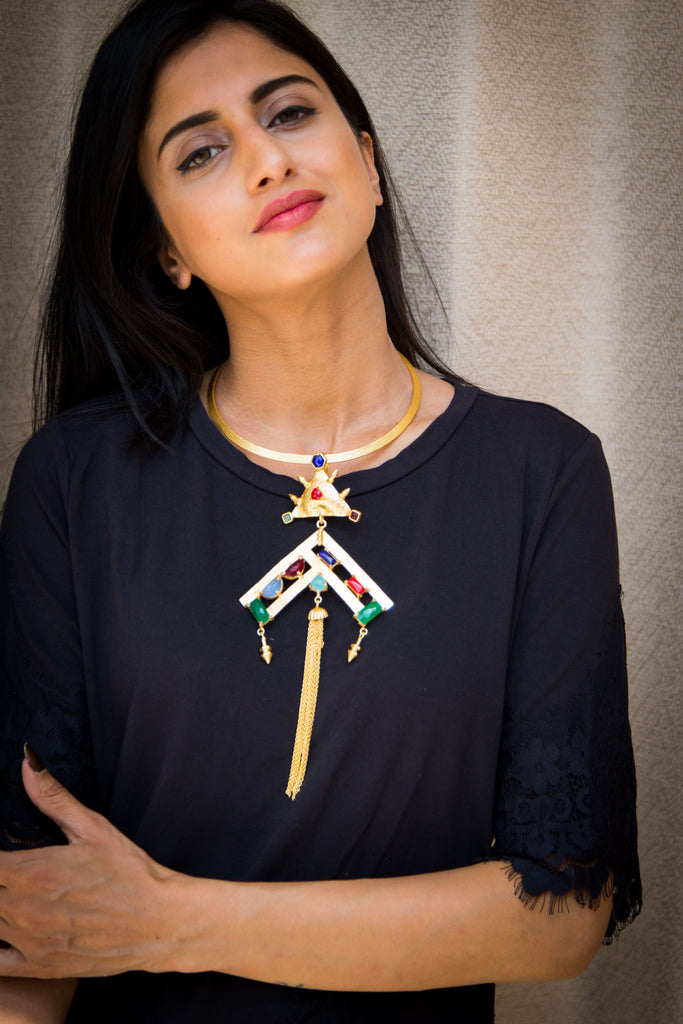 Aulaire Statement Necklace