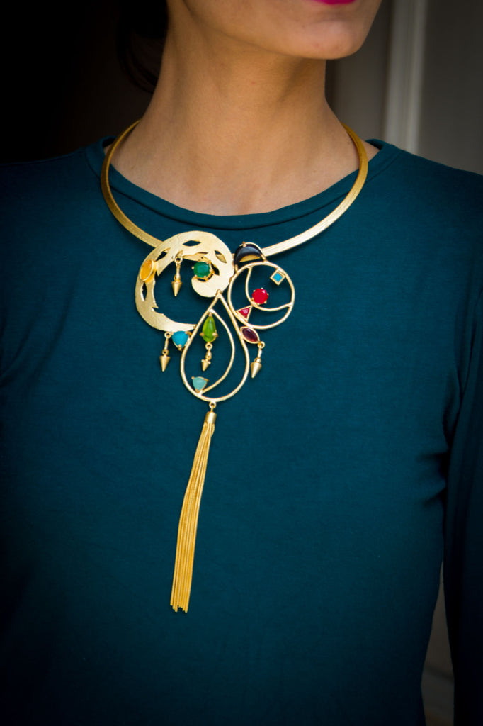 Antonia Statement Necklace