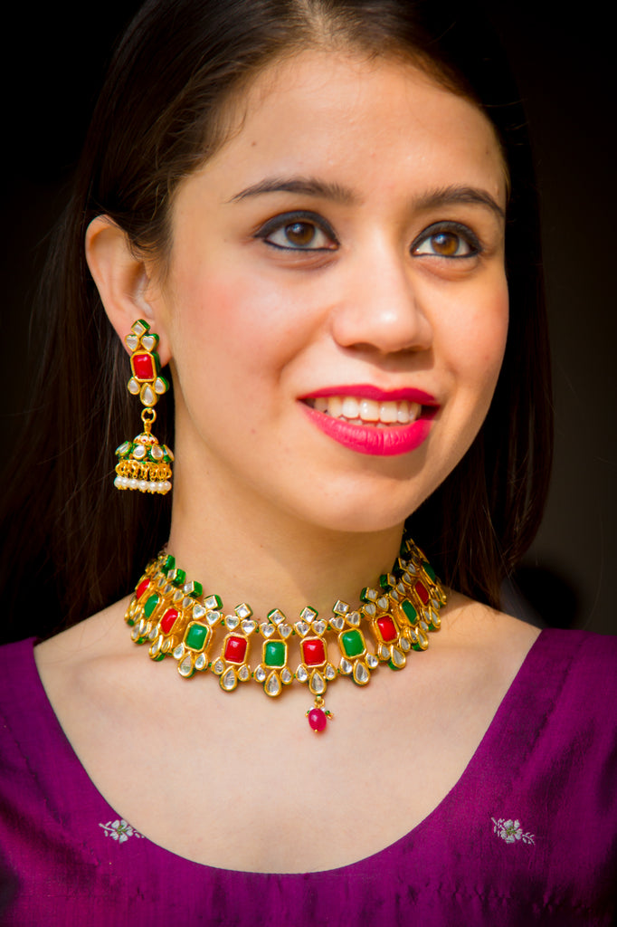 Hara-Laal Necklace Set
