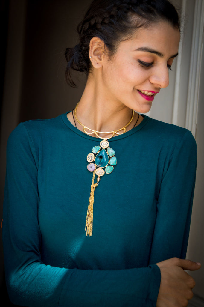 Adolphina Statement Necklace