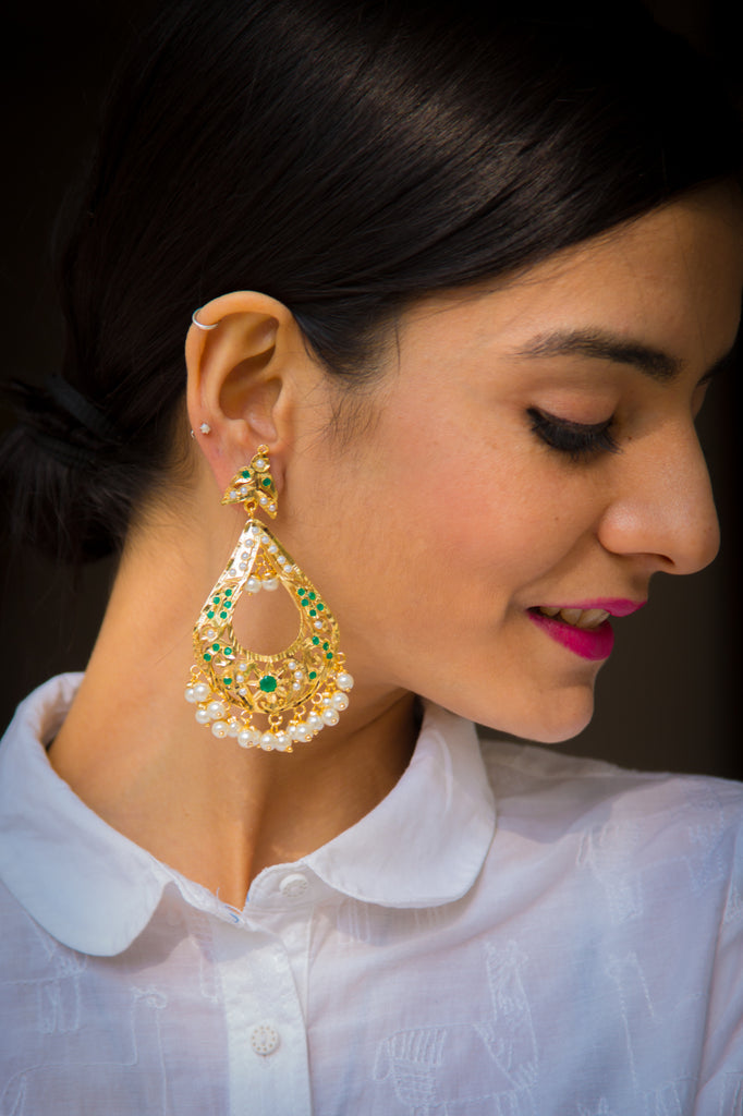 Rishita Jadau Earrings