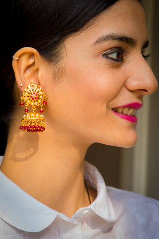 Mahima Jadau Earrings