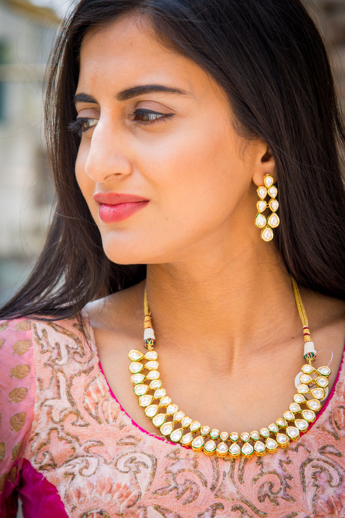 Aranya Kundan Necklace