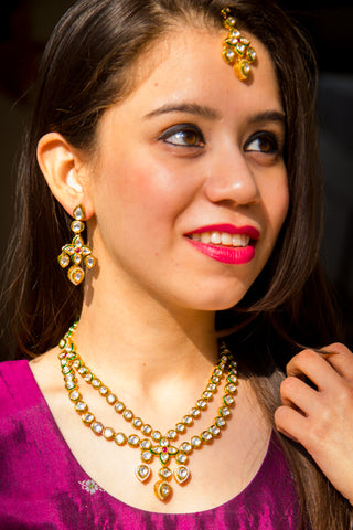 Shivada Kundan Necklace Set