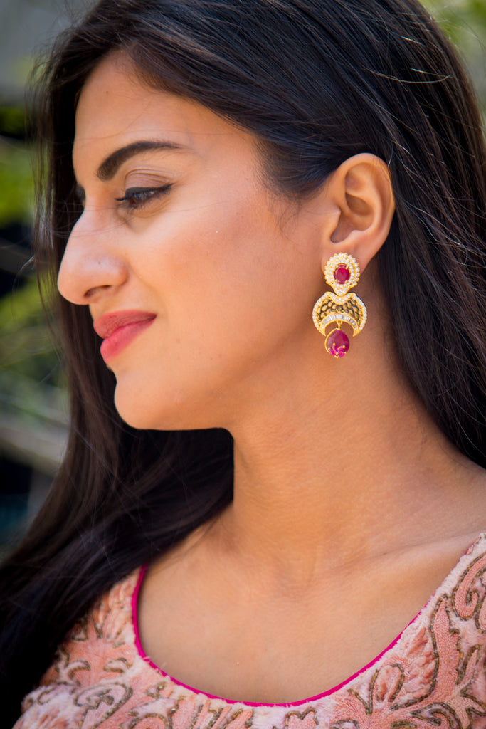 Saranya Earrings