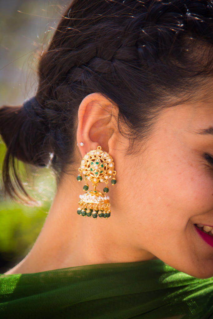 Govindini Jadau Earrings