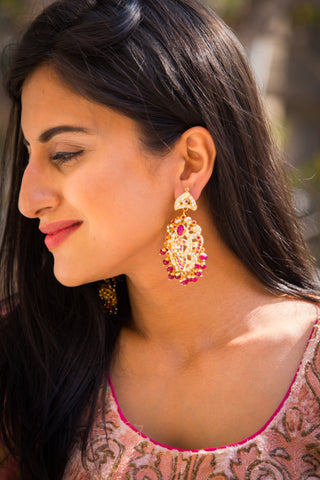 Heena Jadau Earrings