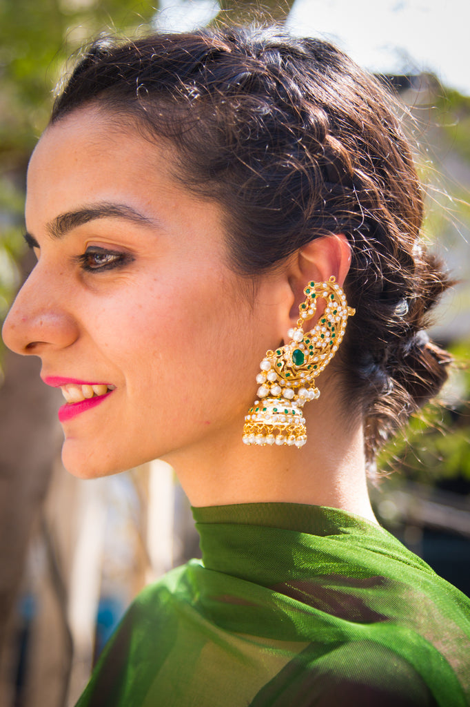 Amari Jadau Earrings