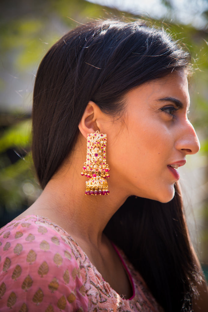 Darshini Jadau Earrings
