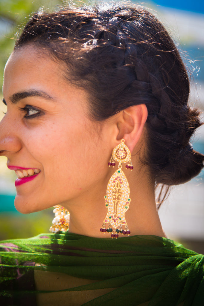 Kushboo Jadau Earrings
