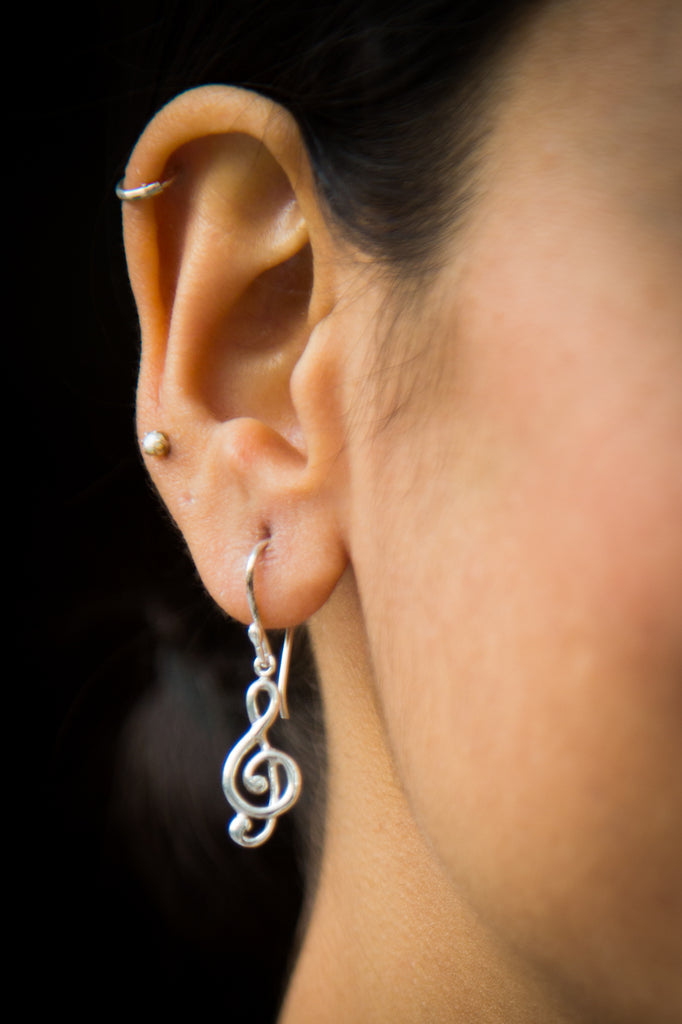 Symphony Silver Earrings